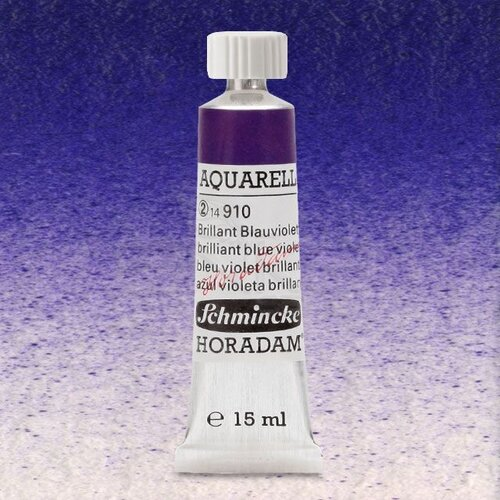 Schmincke Horadam Aquarell Tube 15ml Seri 2 Brilliant Blue Violet 910