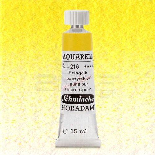 Schmincke Horadam Aquarell Tube 15ml Seri 2 Pure Yellow 216