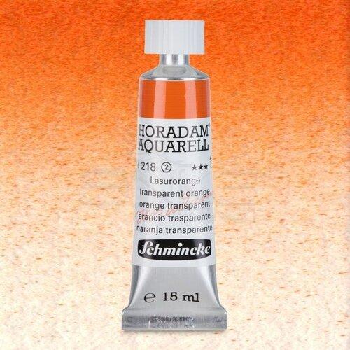 Schmincke Horadam Aquarell Tube 15ml Seri 2 Translucent Orange 218