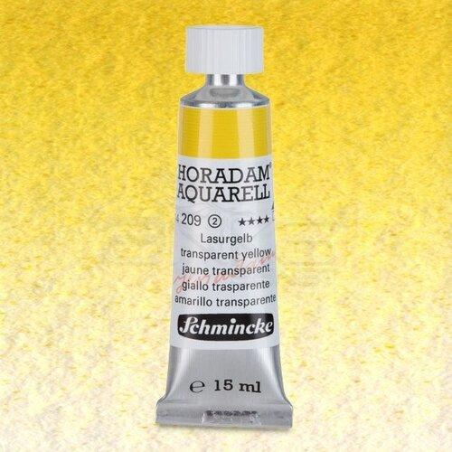 Schmincke Horadam Aquarell Tube 15ml Seri 2 Translucent Yellow 209