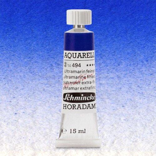 Schmincke Horadam Aquarell Tube 15ml Seri 2 Ultramarine Finest 494