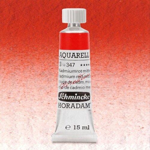 Schmincke Horadam Aquarell Tube 15ml Seri 3 Cadmium Red Middle 347