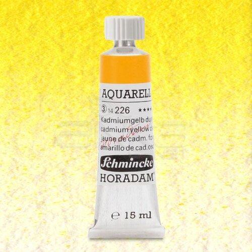 Schmincke Horadam Aquarell Tube 15ml Seri 3 Cadmium Yellow Deep 226