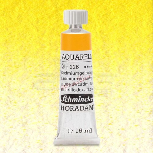 Schmincke Horadam Aquarell Tube 15ml Seri 3 Cadmium Yellow Deep 226