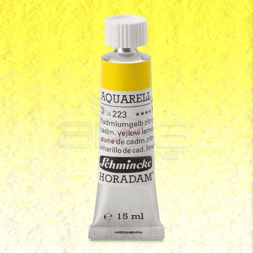 Schmincke Horadam Aquarell Tube 15ml Seri 3 Cadmium Yellow Lemon 223