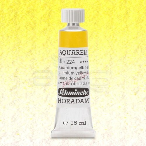 Schmincke Horadam Aquarell Tube 15ml Seri 3 Cadmium Yellow Light 224