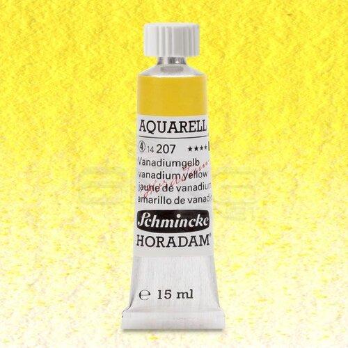 Schmincke Horadam Aquarell Tube 15ml Seri 4 Vanadium Yellow 207