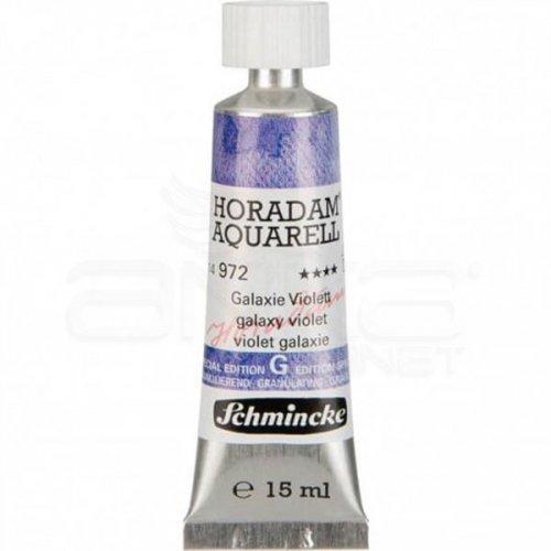 Schmincke Horadam Aquarell Tube 15ml Super Granulation 972 Galaxy Violet