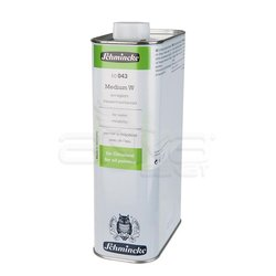 Schmincke Medium W For Water Mixability 1000ml (043) - Thumbnail