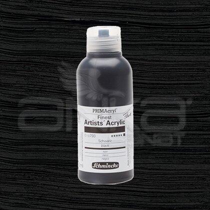 Schmincke Primacryl Akrilik Boya 250ml Seri 1 Black N:793