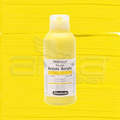 Schmincke Primacryl Akrilik Boya 250ml Seri 1 Lemon Yellow N:205
