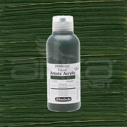 Schmincke Primacryl Akrilik Boya 250ml Seri 1 Sap Green N:570