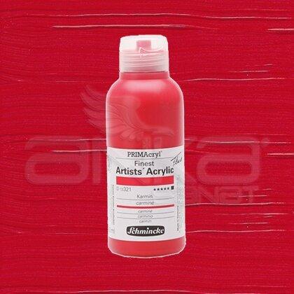 Schmincke Primacryl Akrilik Boya 250ml Seri 2 Carmine N:321