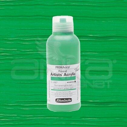 Schmincke Primacryl Akrilik Boya 250ml Seri 2 Permanent Green Light N:567