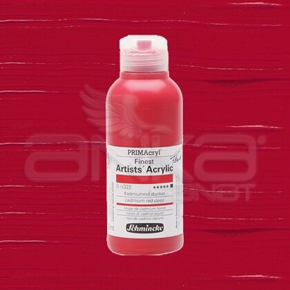 Schmincke Primacryl Akrilik Boya 250ml Seri 3 Cadmium Red Deep N:322