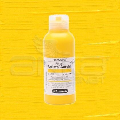 Schmincke Primacryl Akrilik Boya 250ml Seri 3 Cadmium Yellow Medium N:211