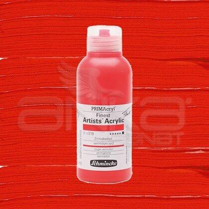 Schmincke Primacryl Akrilik Boya 250ml Seri 3 Vermilion Red N:318