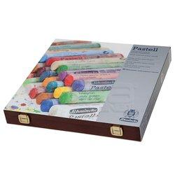 Schmincke - Schmincke Soft Pastel Boya Seti Cardboard 45li Ahşap Kutu (1)