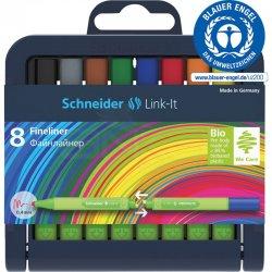 Schneider - Schneider Link-it Keçe Uçlu Kalem 0.4mm 8li 191298