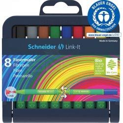 Schneider - Schneider Link-it Keçe Uçlu Kalem 1mm 8li 192098