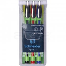 Schneider - Schneider Xpress Fineliner 0.8mm 3lü 190093 (1)