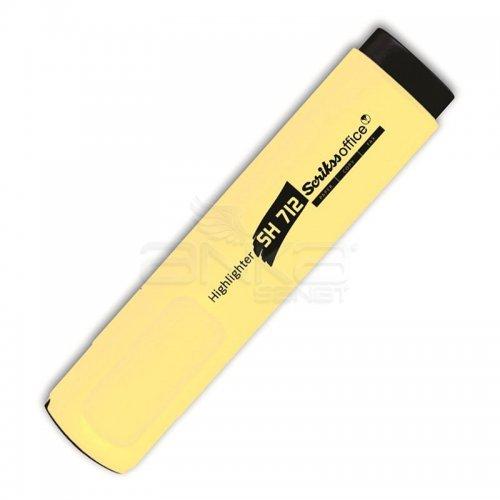 Scrikss Fosforlu Kalem SH712 Sarı