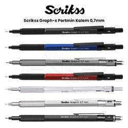 Scrikss - Scrikss Graph-x Portmin Kalem 0,7mm