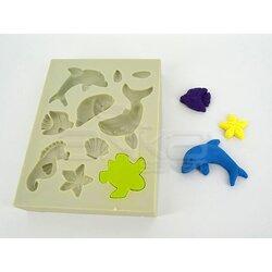 Sculpey - Sculpey Flexible Push Mold Esnek Model Kalıbı Sea Life APM06 (1)