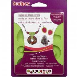 Sculpey - Sculpey Flexible Push Mold Esnek Model Kalıbı Taş Model APM 81