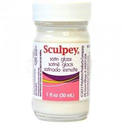 Sculpey - Sculpey Satin Glaze Yarı Mat Kil Verniği 30ml