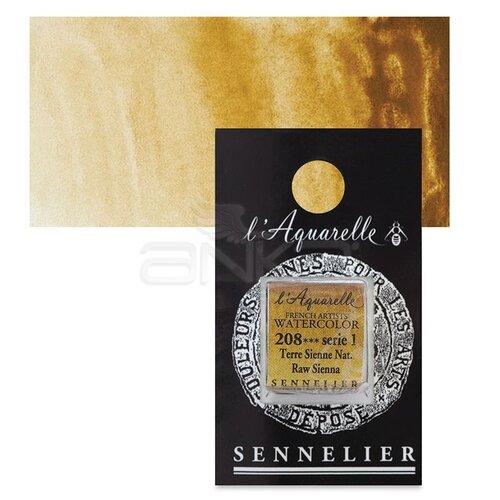 Sennelier Artist Tam Tablet Sulu Boya Yedek Seri 1 No:208 Raw Sienna - 208 Raw Sienna