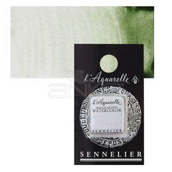 Sennelier - Sennelier Artist Tam Tablet Sulu Boya Yedek Seri 1 No:213 Green Earth