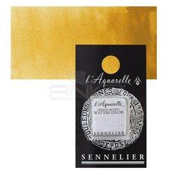 Sennelier - Sennelier Artist Tam Tablet Sulu Boya Yedek Seri 1 No:254 Light Yellow Ochre