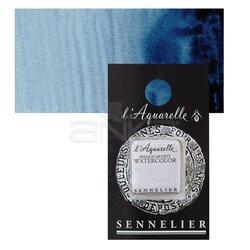 Sennelier - Sennelier Artist Tam Tablet Sulu Boya Yedek Seri 1 No:318 Prussian Blue