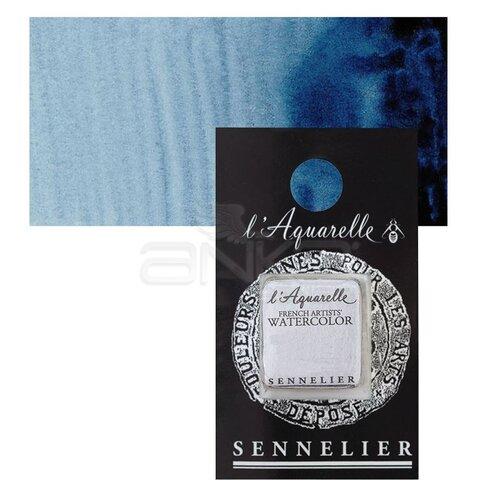 Sennelier Artist Tam Tablet Sulu Boya Yedek Seri 1 No:318 Prussian Blue - 318 Prussian Blue
