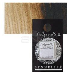 Sennelier - Sennelier Artist Tam Tablet Sulu Boya Yedek Seri 1 No:435 Transparent Brown