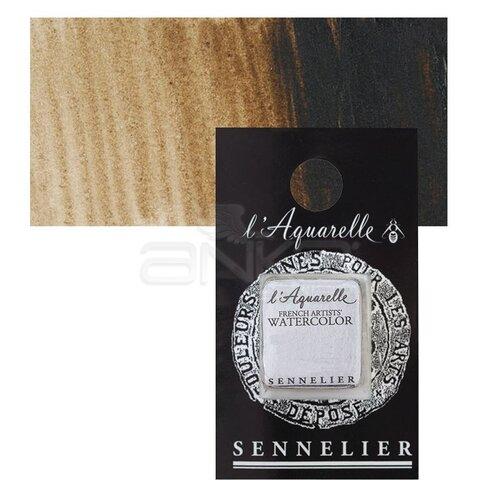 Sennelier Artist Tam Tablet Sulu Boya Yedek Seri 1 No:435 Transparent Brown - 435 Transparent Brown
