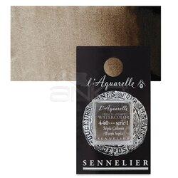 Sennelier - Sennelier Artist Tam Tablet Sulu Boya Yedek Seri 1 No:440 Warm Sepia