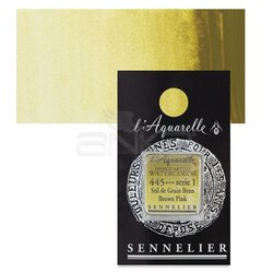 Sennelier - Sennelier Artist Tam Tablet Sulu Boya Yedek Seri 1 No:445 Brown Pink
