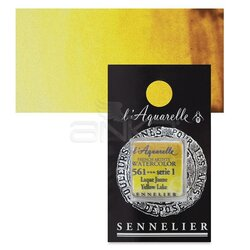 Sennelier - Sennelier Artist Tam Tablet Sulu Boya Yedek Seri 1 No:561 Yellow Lake
