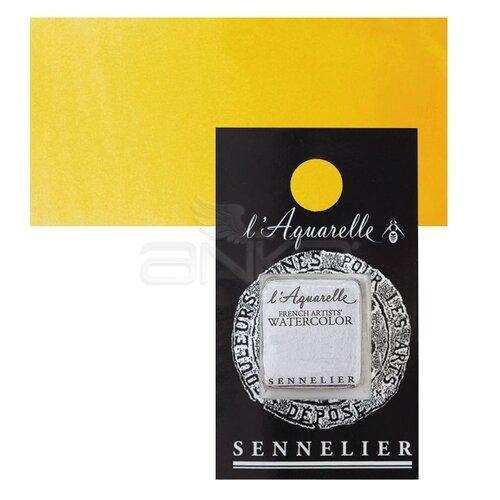 Sennelier Artist Tam Tablet Sulu Boya Yedek Seri 1 No:579 Sennelier Yellow Deep - 579 Sennelier Yellow Deep