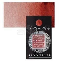 Sennelier - Sennelier Artist Tam Tablet Sulu Boya Yedek Seri 1 No:689 Alizarin Crimson