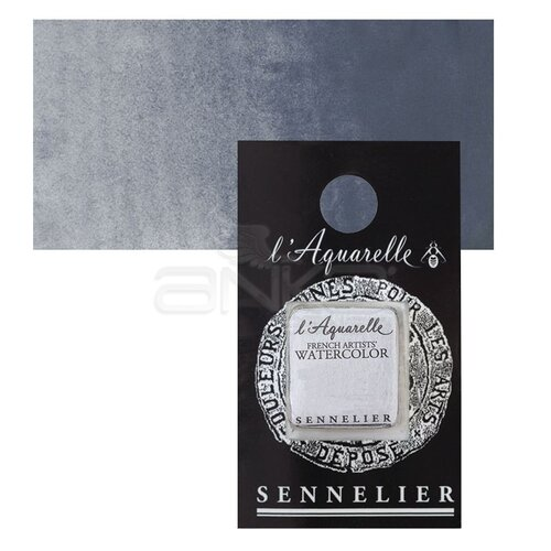 Sennelier Artist Tam Tablet Sulu Boya Yedek Seri 1 No:707 Light Grey - 707 Light Grey