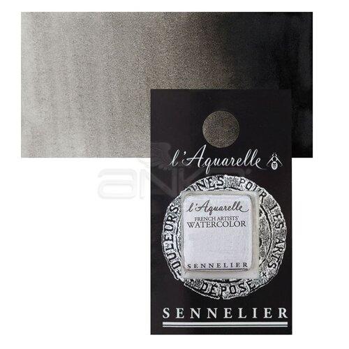 Sennelier Artist Tam Tablet Sulu Boya Yedek Seri 1 No:753 Ivory Black - 753 Ivory Black