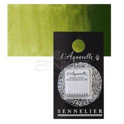 Sennelier - Sennelier Artist Tam Tablet Sulu Boya Yedek Seri 1 No:813 Olive Green