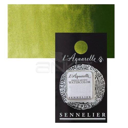 Sennelier Artist Tam Tablet Sulu Boya Yedek Seri 1 No:813 Olive Green - 813 Olive Green