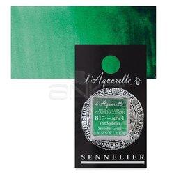 Sennelier - Sennelier Artist Tam Tablet Sulu Boya Yedek Seri 1 No:817 Sennelier Green