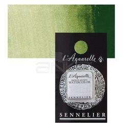 Sennelier - Sennelier Artist Tam Tablet Sulu Boya Yedek Seri 1 No:819 Sap Green