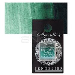 Sennelier - Sennelier Artist Tam Tablet Sulu Boya Yedek Seri 1 No:899 Forest Green