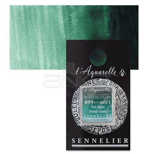 Sennelier Artist Tam Tablet Sulu Boya Yedek Seri 1 No:899 Forest Green - 899 Forest Green